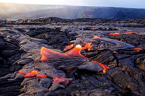 Lava near Kona, Hawaii