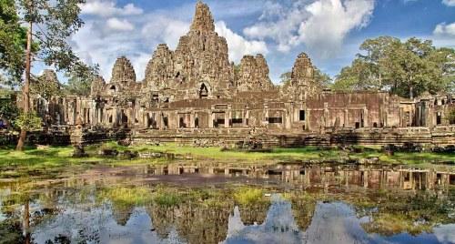 Ruins of Angkor, Cambodia