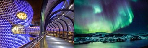 Birmingham, UK and Iceland