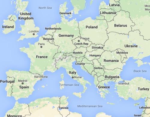 Europe, Tunisia, and Morocco