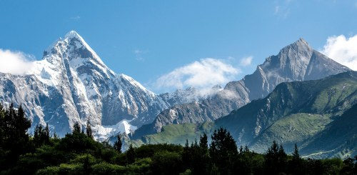 Mount Siguniang in Sichuan province